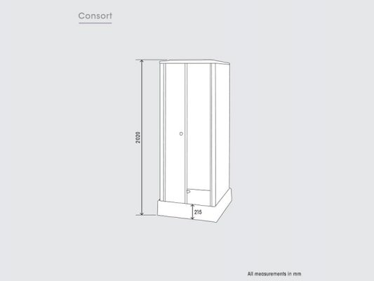 Kinedo Consort Measurements Img01