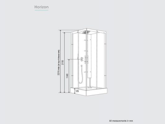 Kinedo Horizon Measurements Img01