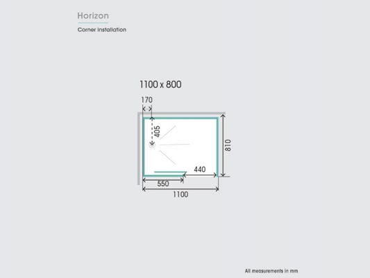Kinedo Horizon Measurements Img03