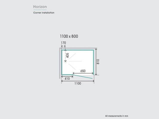 Kinedo Horizon Measurements Img05