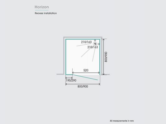 Kinedo Horizon Measurements Img10