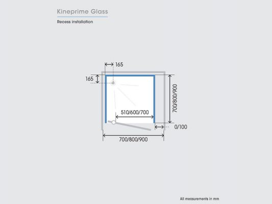 Kinedo KinePrime Glass Measurements Img04