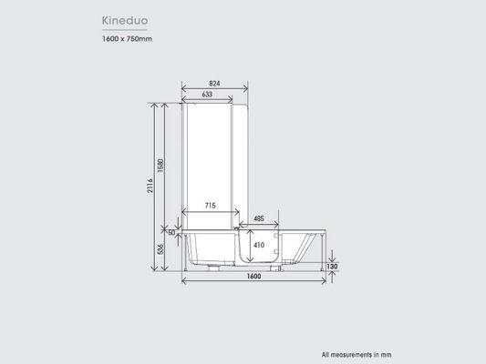 Kinedo Kineduo Measurements Img02