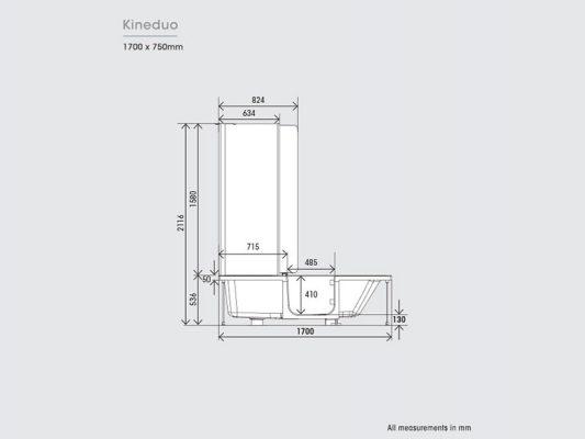 Kinedo Kineduo Measurements Img05