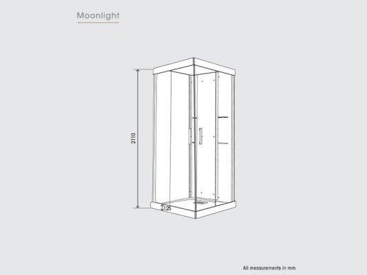 Kinedo Moonlight Measurements Img01