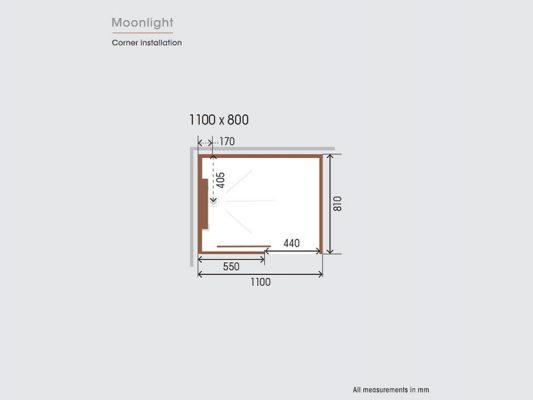Kinedo Moonlight Measurements Img05