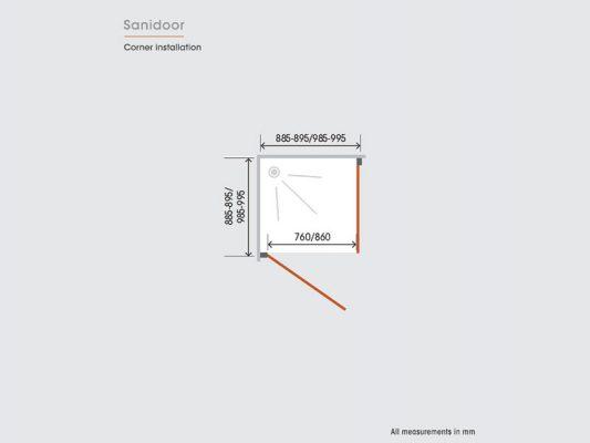 Kinedo Sanidoor Measurements Img03